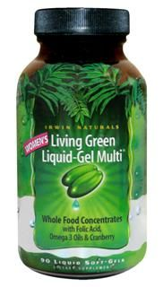 Living Green Liquid-Gel Multi for Women (90 softgels)* Irwin Naturals