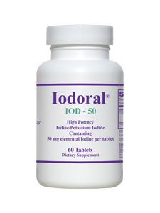 Iodoral IOD-50 (60 tablets) Optimox Corporation