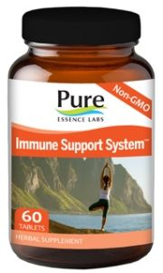 Immune Support System (60 tabs)* Pure Essence Labs
