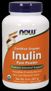 Inulin Powder Pure FOS (8 oz) NOW Foods