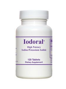 Iodoral (120 tablets) Optimox Corporation