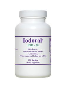 Iodoral IOD-50 (120 tablets) Optimox Corporation