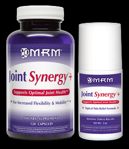 Joint Synergy Plus Value-Pak (120 capsules + 2oz Roll-on) Metabolic Response Modifiers