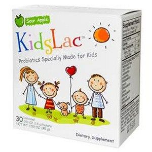 KidsLac Probiotic for Children (Apple 30 packets) Vibrant Nutraceuticals