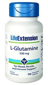 L-Glutamine (500 mg 100 vcaps)* Life Extension