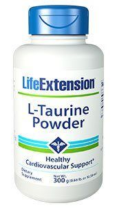 Taurine (300 grams powder)* Life Extension