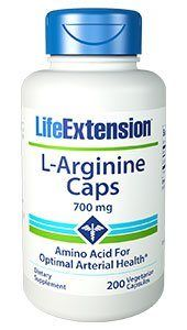 Arginine  (700 mg, 200 vcaps)* Life Extension
