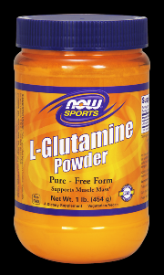 L-Glutamine (1 lb.) NOW Foods