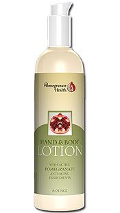 Pomegranate Hand & Body Lotion (8oz) Pomegranate Health