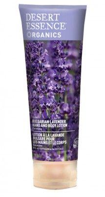 Organic Lavender Hand and Body Lotion 8oz Desert Essence