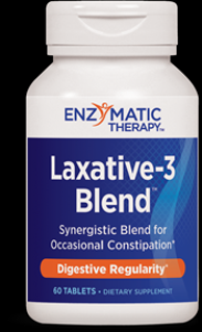 Laxative-3 Blend (60 tabs) Enzymatic Therapy