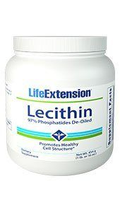 Lecithin Granules (16 oz granules)* Life Extension