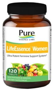 LifeEssence Women's Formula (120 tabs)* Pure Essence Labs