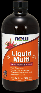 Liquid Multi (Berry 16 oz) NOW Foods