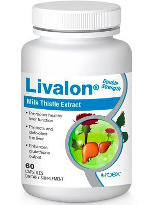 Livalon | Milk Thistle Extract (60 capsules) Roex