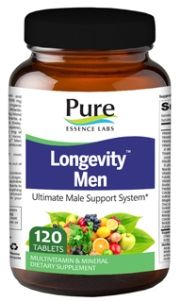 Longevity Men's Formula (120 tabs)* Pure Essence Labs