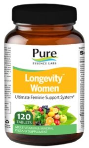 Longevity Women's Formula (120 tabs)* Pure Essence Labs
