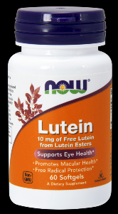 Lutein 10 mg (60 softgels) NOW Foods