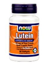 Lutein 10 mg (120 softgels) NOW Foods