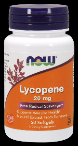Double Strength Lycopene (50 softgels 20 mg) NOW Foods