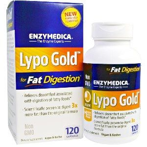 Lypo Gold (120 caps)* EnzyMedica