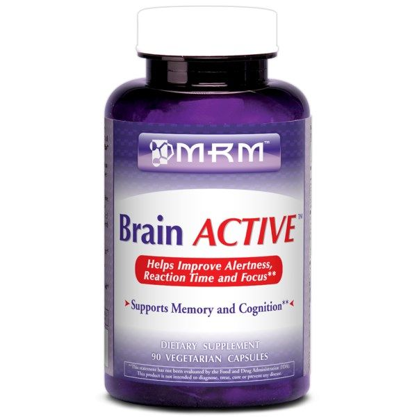 Brain Active 90 vcaps Metabolic Response Modifiers