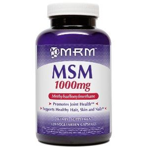 MSM  Methyl Sulfonyl Methane (1000mg 120 Vcap) Metabolic Response Modifiers
