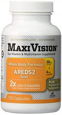 MaxiVision Whole Body (120 Caps)* MedOp Inc