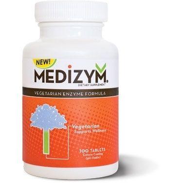 Medizym (200 Tabs) | Vegetarian Formula Naturally Vitamins