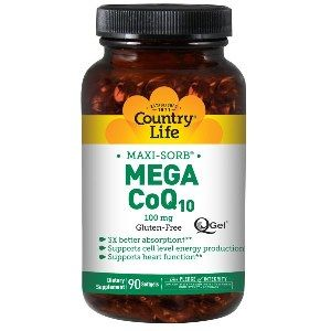 Mega CoQ10 (100mg 90 Softgel) Country Life