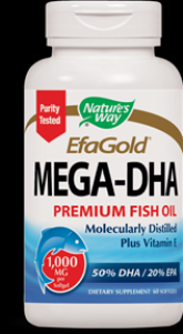 Mega-DHA  ( 60 softgel ) Nature's Way