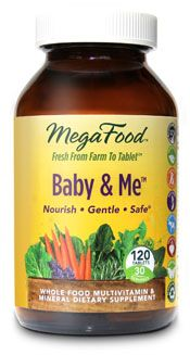 Baby & Me Prenatal Multivitamin (120 tablets)* MegaFood