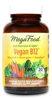 Vegan B12 (30 tablets)* MegaFood