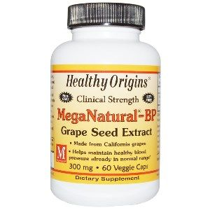 MegaNaturaI BP Grape Seed Extract 300mg (60 capsules) Healthy Origins
