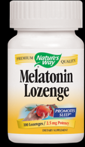 Melatonin 2.5mg Passion Fruit ( 100 lozenges ) Nature's Way