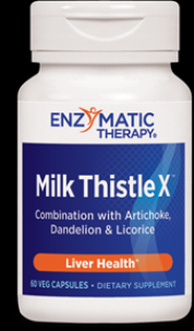 Milk Thistle X (60 Ultracaps) Enzymatic Therapy
