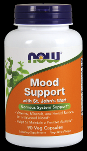 Mood Support with St. John's Wort (90 Vcaps) NOW Foods