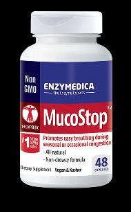 MucoStop (48 caps)* EnzyMedica