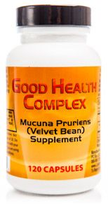 Good Health Complex - Mucuna Pruriens Extract (120 capsules) Libido Edge Labs