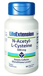 N-Acetyl Cysteine, NAC (600 mg 60 vcaps)* Life Extension