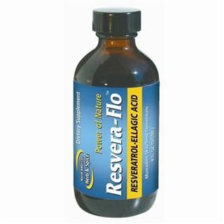 Resvera-Flo | Resveratrol-Ellagic Acid (4 oz)* North American Herb and Spice