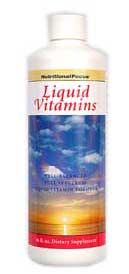 Liquid Vitamins (16 oz)* Nutritional Focus