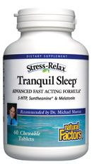 Tranquil Sleep (60 chewable tablets)* Natural Factors