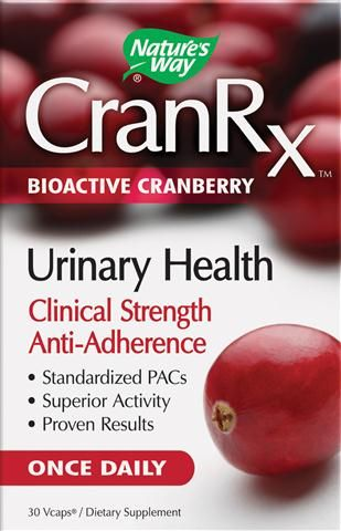 Bioactive Cranberry CranRx (500 mg|30 Vcaps) Nature's Way
