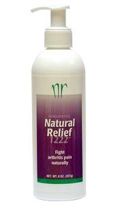 Natural Relief 1222 (8 oz pump)* Life Extension