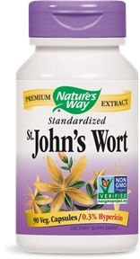 St. John's Wort, Standardized (90 Caps)* Nature's Way