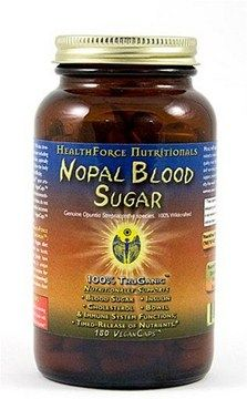 Nopal Blood Sugar  Nopal Cactus (180 caps)* HealthForce Nutritionals