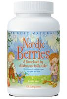 Nordic Berries Kids Multivitamin* (120 Gummy Berries) Nordic Naturals