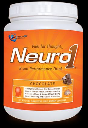 Neuro1 | Brain Performance Formula (Chocolate 1.37lbs )* Nutrition53