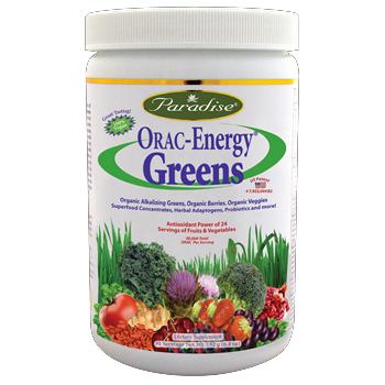ORAC-Energy Greens (182 gr)* Paradise Herbs